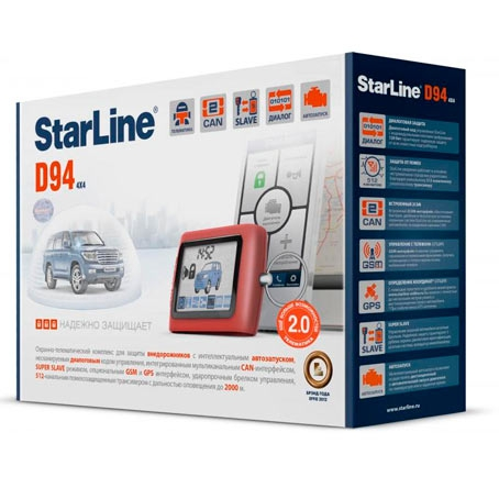 StarLine D94 2CAN GSM 2SLAVE