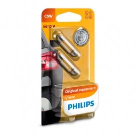 Philips C5W 12V 36мм 12844 B2 k-t.
