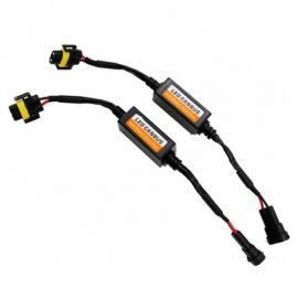 Обманки для Led ламп в головной свет под H8/H9/H11/H16 к-т.