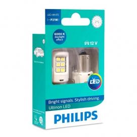 Philips P21W 12V (BA15S) LED White 6000k  ULW (11498ULWXX2 )