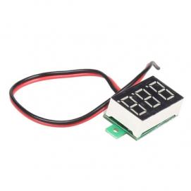 Цифровой вольтметр 5-30 вольт (для скрытой установки)