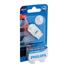 PHILIPS W21/5W 12V (красная)
