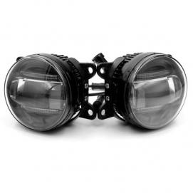 DLAA DRN098-LED диодные противотуманки (проводка, реле, кнопка)