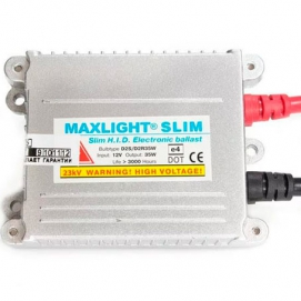 Блок розжига (Ket-02) MaxLight Slim 12V 35W (AC)