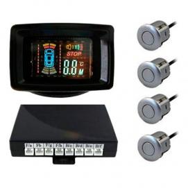 Парковочный радар SVS LCD 088 (Серебро)